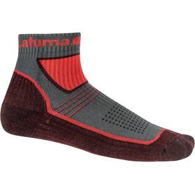 Lafuma Fastlite Merino Low Socks, vibrant red